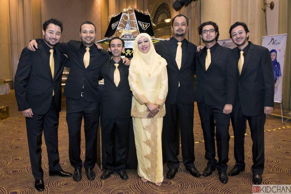 Tuanku zara wedding