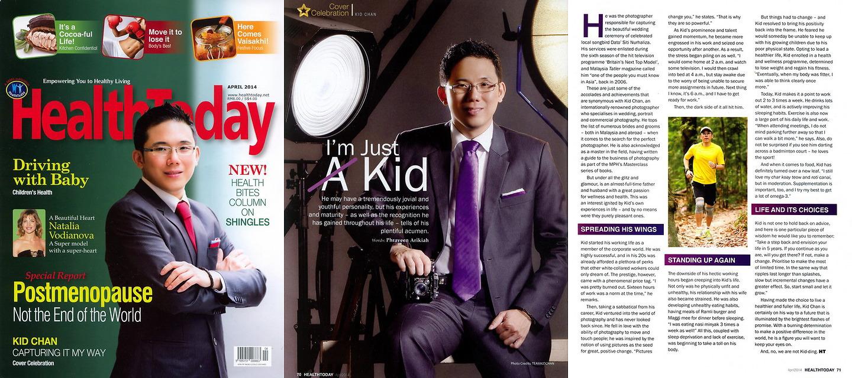 HealthToday: Kid Chan, 'I'm Just A Kid'